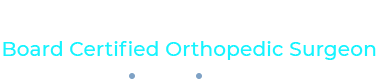 Carl Freeman, M.D. Board Certified Orthopedic Surgeon